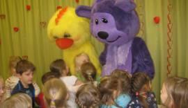 Tibu ja Karu lastega sõbrapäeval lustimas 17.02. 2017