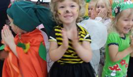 Väike mesimumm karnevalil